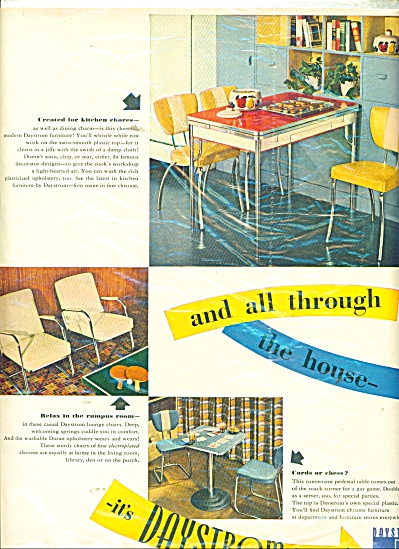 Daystrom Furniture ad 1947 (Image1)