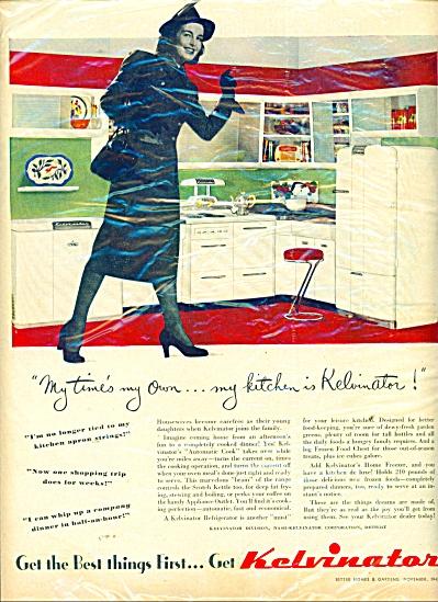 Kelvinator Kitchen ad 1947 (Image1)