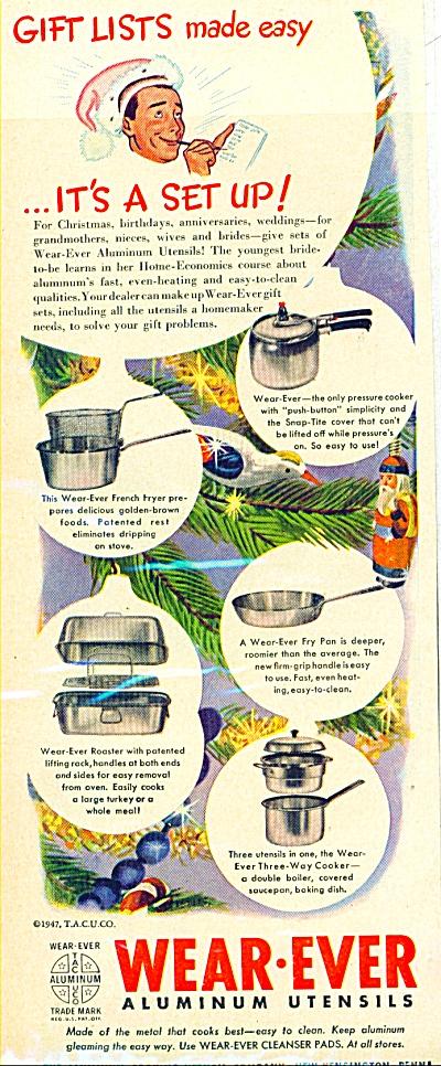 Wear-Ever aluminum utensils ad 1947 (Image1)