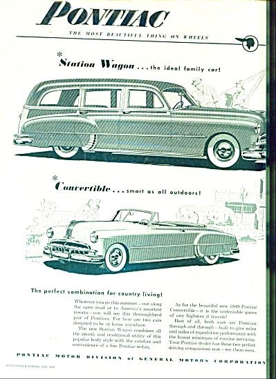 Pontiac Automobile ad 1949 (Image1)