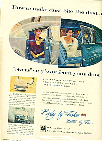 Body by Fisher ad 1957 STORMS (Image1)