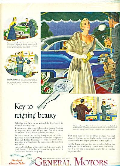 General Motors ad 1950 (Image1)