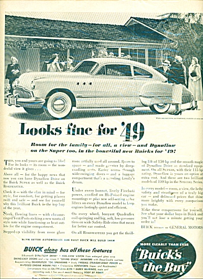 Buick automobile for 1949 ad (Image1)