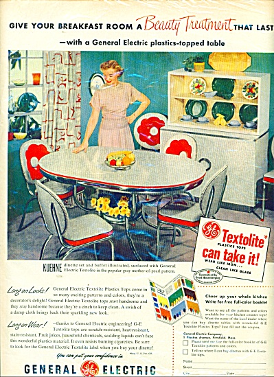 General Electric plastics topped table ad (Image1)