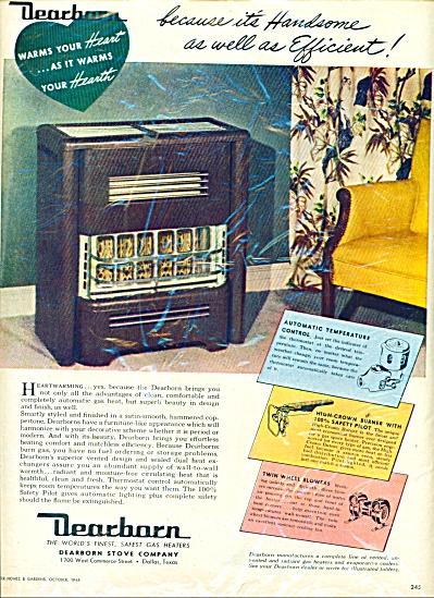 Dearborn stove company ad 1948 (Image1)