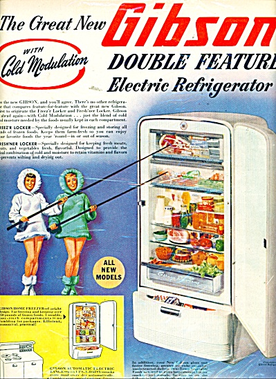 Gibson Refrigerator Company ad 1948 (Image1)