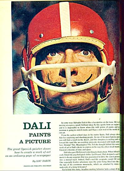 Salvador Dali ads  1965 (Image1)