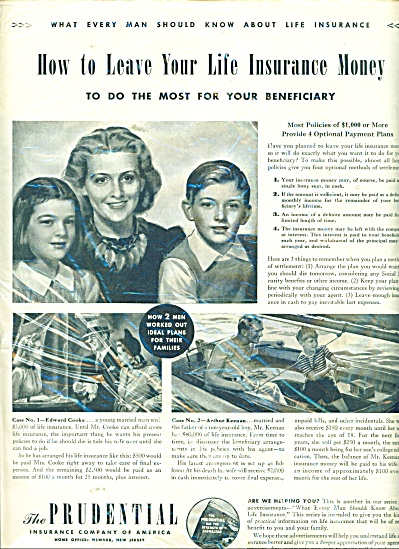 The Prudential Insurance company of America 1942 (Image1)