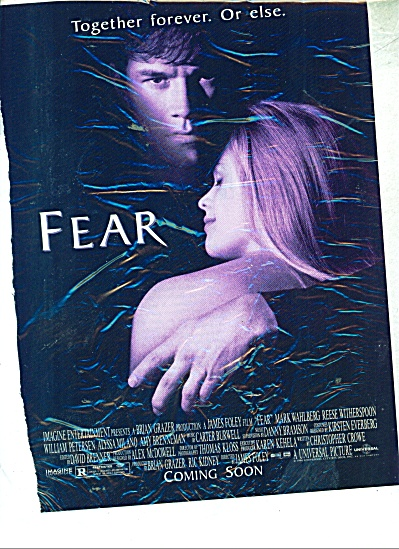 Movie FEAR  ad - 1996 (Image1)