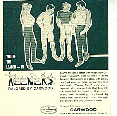 Carwood  Teeners  ad   1963 (Image1)
