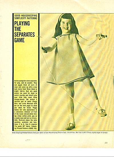 Playing the separates game ad 1963 (Image1)