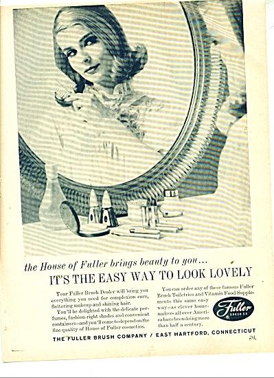 Fuller Brush company ad 1963 (Image1)