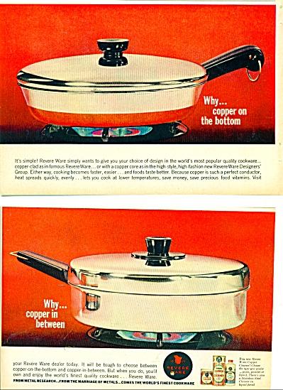 Revere Ware ads  1963 (Image1)