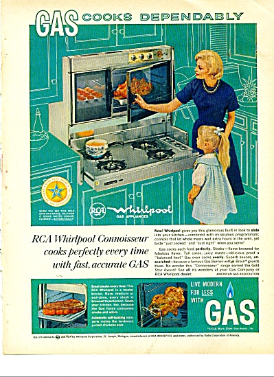 RCA whirlpool connoisseur ad 1963 (Image1)