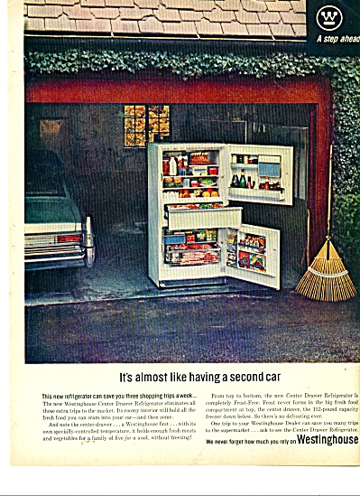 Westinghouse refrigerator ad 1963 (Image1)