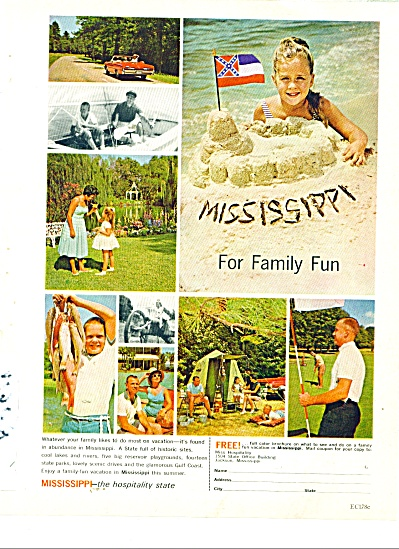 Mississippi for family fun ad 1963 (Image1)