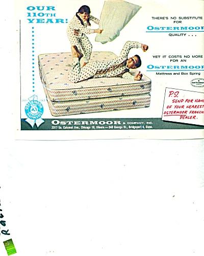 1963 Ostermoor Mattress AD BOY - GIRL PJ's (Image1)