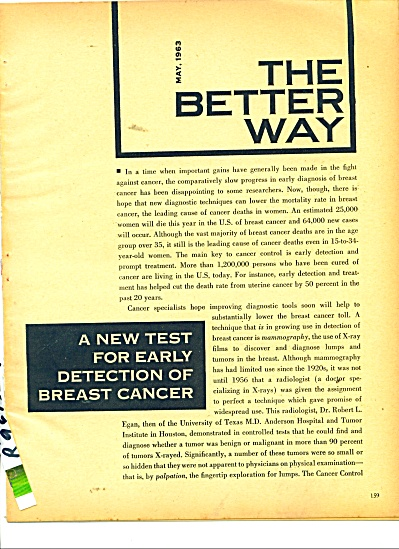 The Better Way report  - 1963 (Image1)