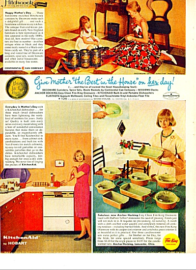 Fire King ovenware ad  1963 (Image1)
