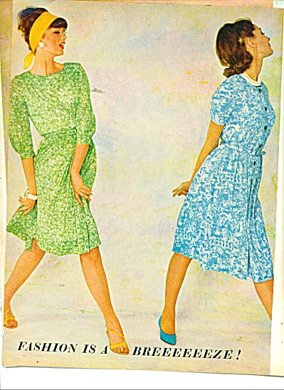 1963 Fashion is a breeze 8 pg MODELS (Image1)