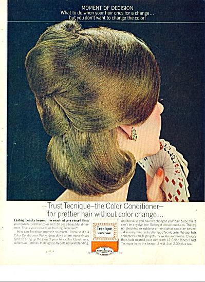 Tecnique Color tone conditioner ad 1963 (Image1)