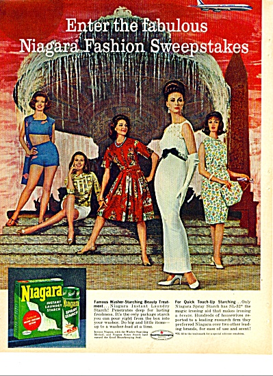 Niagara instant laundry starch ad 1963 (Image1)