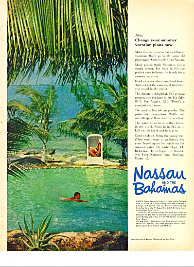 Nassau and the Bahamas ad 1963 (Image1)