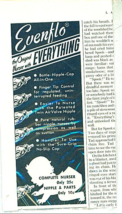 Evenflo, the orginal Nurser ad 1951 (Image1)
