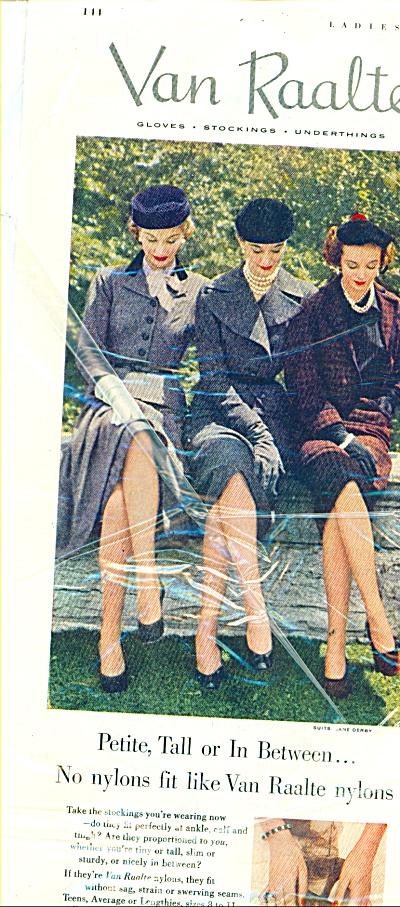 Van Raalte nylons ad 1951 (Image1)