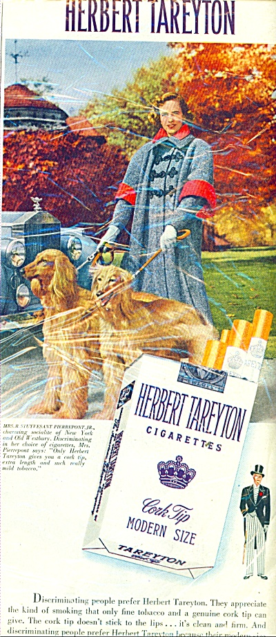 1951 Tareyton Cigarettes Stuyvesant (Image1)