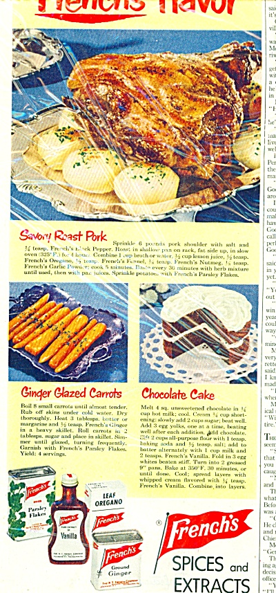 French's spices and extracts ad 1951 (Image1)