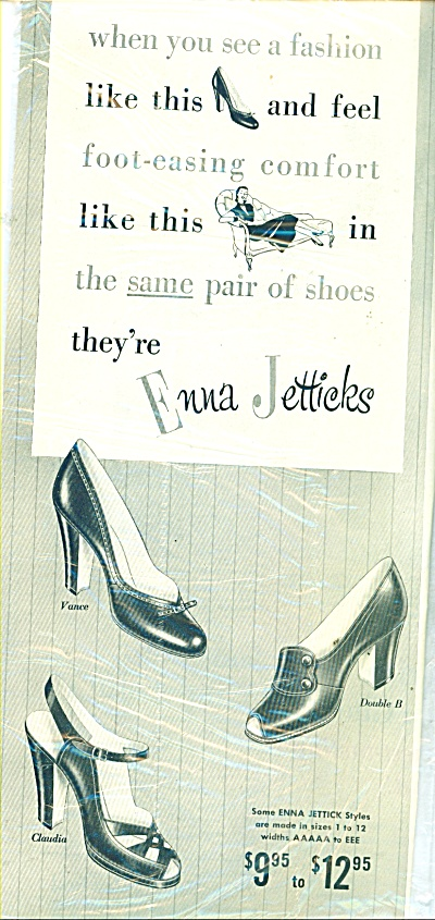 Enna Jetticks shoes ad 1951 (Image1)