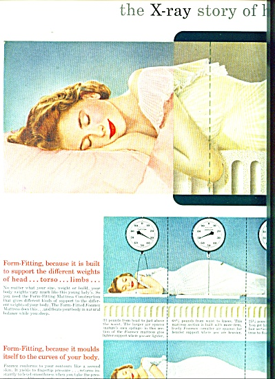 Firestone Foamex mattress ad 1951 (Image1)