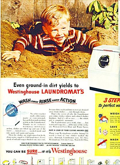 Westinghouse laundromats ad 1951 (Image1)