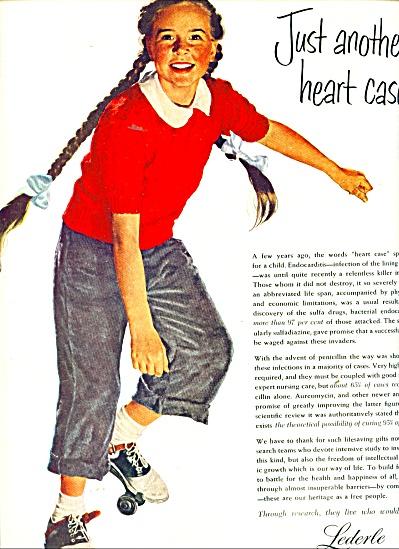Lederle Ad  1951 DOUGLAS CROCKWELL (Image1)