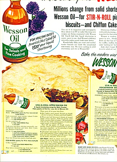 Wesson Oil ad 1951 (Image1)