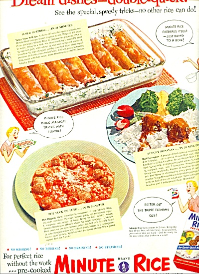 Minute Rice ad 1951 (Image1)