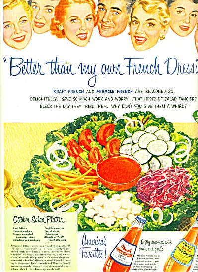 Kraf Miracle French & Miracle french dressing (Image1)