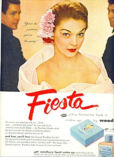 1951 FIESTA WOODBURY AD Dovima? Feminine (Image1)