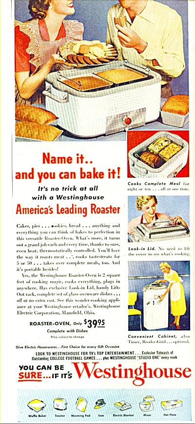 Westinghouse Roaster ad  1951 (Image1)