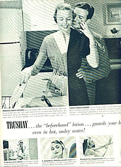 Trushay lotion ad 1951 (Image1)