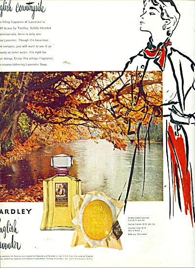 1951 Yardley English Lavender  AD COOL ART (Image1)