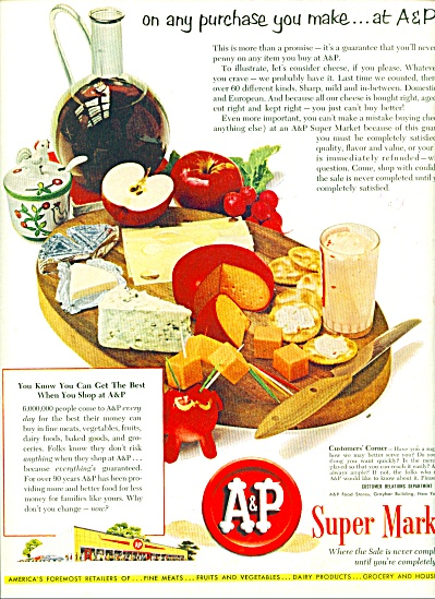A & P Super Markets ad 1951 (Image1)