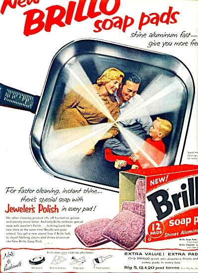 Brillo soap pads ad 1958 (Image1)