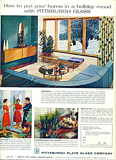 Pittsburgh Plate Glass company ad 1958 (Image1)