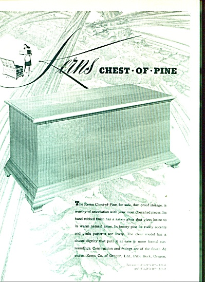 Kerns chest of pine ad 1947 (Image1)