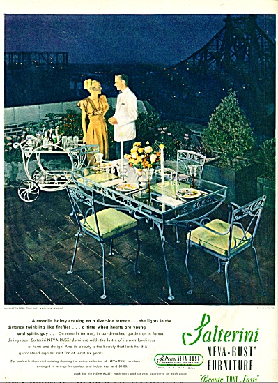 Salterini neva rust furniture ad 1947 (Image1)