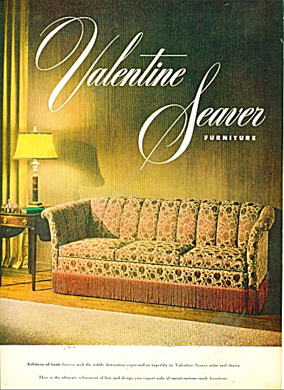 Valentine Seaver furniture ad 1947 (Image1)