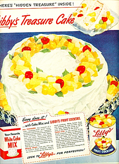 Libby's Fruit cocktail ad 1950 (Image1)