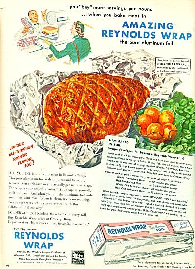 Reynolds Wrap ad 1950 (Image1)